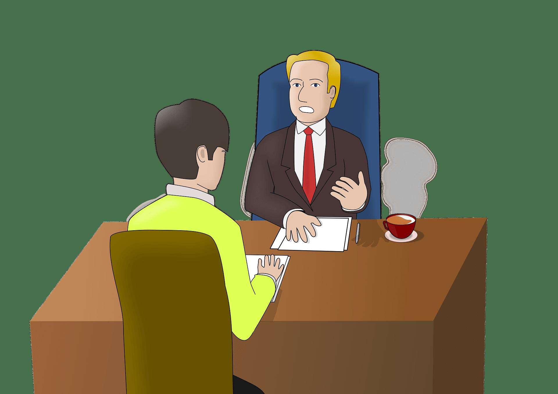 Vorstellungsgespräch